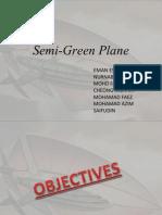 Semi Green Aircraft