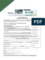 Auto Equip Expo-Fax Campaign