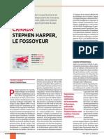 CANADA DE STEPHEN HARPER