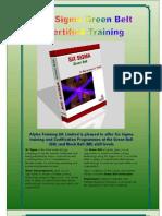 Six Sigma GB Certified Training