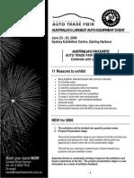 Auto Sales Brochure 2006