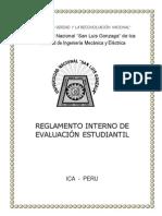 Reglamento Interno de Evaluación Fime