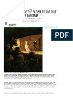 From 'the Cult of the People' to 'the Cult of Rancière' [Mute]