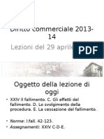 Lezione 16 Diritto Commerciale 2013-14