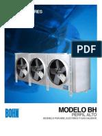 BCT 007 430 1 Vaporadores Para Camaras Frigorificas de Alto Perfil BHA BHE BHL BHG BHF