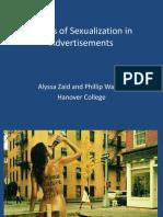 WalkerEffects of Sexualization in Advertisements