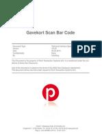 Gave Kort Scan Barcode