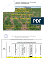 Boletin Agrometeorológico Decenal Nro. 736- Para El Altiplano_1er_Enero_2015