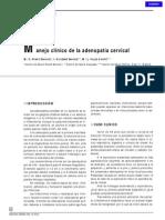 Manejo clínico de la adenopatía cervical.pdf