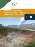 Manual de Geotermia Como Planificar y Financiar La Generacion de Electricidad