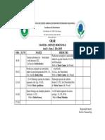 MSc Stiinte Horticole Sem I 2014-2015