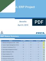 Benifits of ERP Presentation