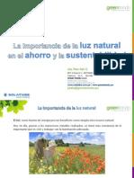 La Importancia de La Luz Natural en El Ahorro y La Sustentabilidad - Solatube - Green Trends (Enero 2013)