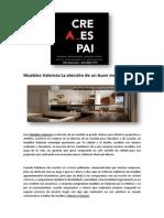 Muebles Valencia La Elección de Un Buen Mueble _ CREAESPAI
