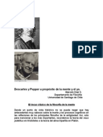 Descartes y Popper