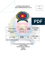 Laporan Praktikum Bahasa Pemograman Java