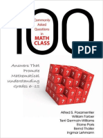 100 Commonly Asked Questions in Math Class Answers That Promote Mathematical Understanding, Grades 6-12_copy