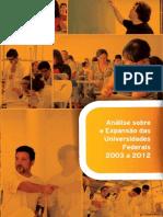 Analise Expansao Universidade Federais 2003 2012 (1)