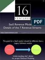 7 SaaS Revenue Streams With Details [full version]