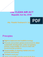 Clean Air Act of the Philippines