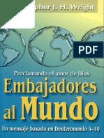 Embajadores al mundo