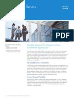 Cisco CCW Flexible Service Start Delay Overview