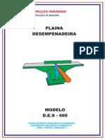 Laudo Da Plaina Des - 400
