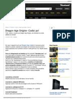 Trucchi per Dragon Age Origins