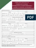Formulario Registral N4