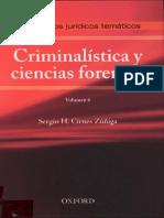 Diccionarios Juridicos Tematicos Criminalistica y Ciencias Forenses