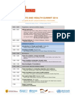 Agenda Climate and Health Summit