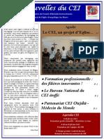 Les nouvelles du CEI 04-Décembre 2014