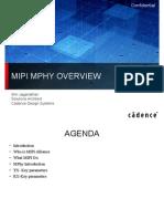 MIPI Cadence Presentation
