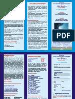 Big Data Brochure Schedule