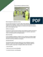 Plan de Emergencia en Explotaciones Mineras