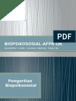 Biopsikososial
