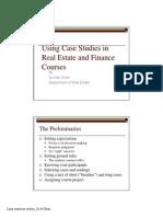 UsingCaseStudiesinFinanceandRealEstate_suchan