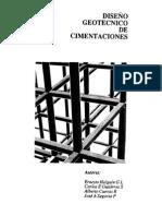 Diseño Geotecnico Cimentaciones TGC