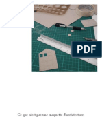 La Maquette Darchitecture