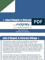 TCDC Board Presentation Veterans Village