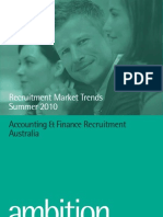 Accounting & Finance Recruitment Market Trends Summer 2010
