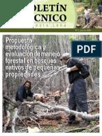 Boletin Nro3 Propuesta Metodologica Manejo Forestal