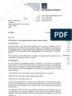 Letter to DFSA Theft by Salem Patel and Hisham Alrayes Re Leeds United