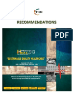 HEAL 2013 Recommendations
