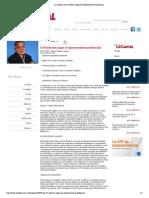 02-12-14 La Capital _ El IV Informe Segun El Representante Presidencial