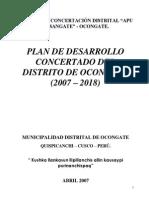 PLAN DE DESARROLLO CONCERTADO DEL DISTRITO DE OCONGATE (2007-2018).pdf