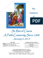 Saint Rita Parish Bulletin 1/4/2015