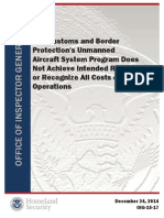 U.S. Customs and Border Protection's Unmanned Aircraft System Program Does Not Achieve Intended Results or Recognize All Costs of Operations
