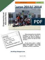 programa de educacion fisica para clases 2013-2014