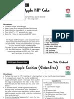 AppleHill2012 Recipes